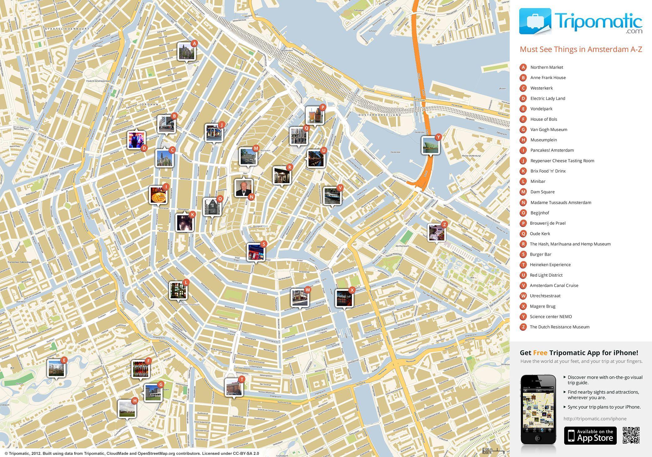 Amsterdam Attraktionen Anzeigen Amsterdam Top Sehenswurdigkeiten