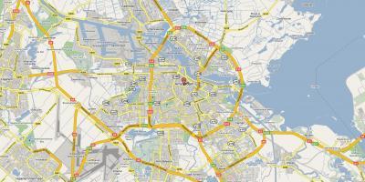 Karte Von Amsterdam Karten Amsterdam Niederlande